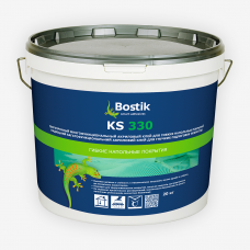 Bostik KS 330 (20 кг) сверхпрочный акриловый клей для гибких напольных покрытий