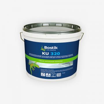 Bostik KU 320 (6 кг) универсальный акриловый клей для гибких напольных покрытий
