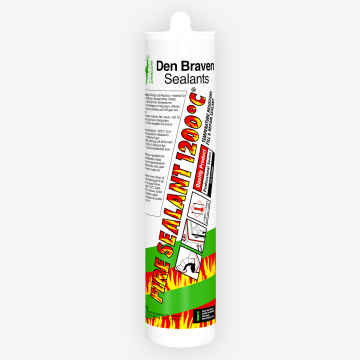 Den Braven Fire Sealant 1200°C (300 мл) жаростійкий герметик