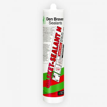 Den Braven Gasket-Sealant N (300 мл) нейтральный высокотемпературный силиконовый герметик