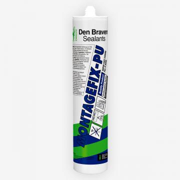 Den Braven Montagefix-PU (300 мл) полиуретановый водостойкий (D4) клей