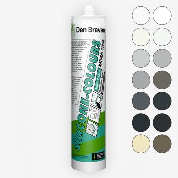 Den Braven Silicone-Colours+NS (310 мл) нейтральный силиконовый герметик для натурального камня