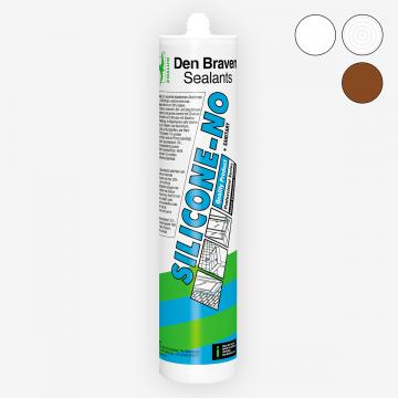 Den Braven Silicone-NO (300 мл) нейтральный санитарный силиконовый герметик